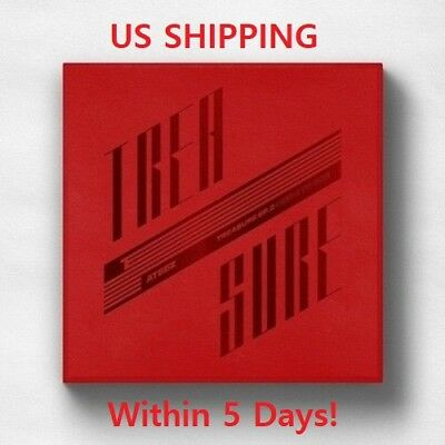 US SHIPPING Ateez-[Treasure EP.2:Zero To One]2nd Mini CD+Poster/On+Book+Card+etc