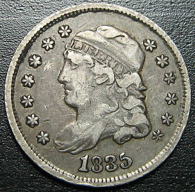 1835 Capped Bust Half Dime  --  MAKE US AN OFFER!  #W6193 ZXCV