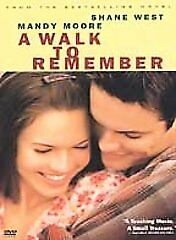 A Walk to Remember DVD, Mandy Moore, Shane West, Peter Coyote, Daryl Hannah, Lau