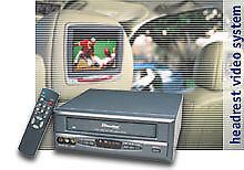 Directed Video VC2050 Mobile Auto Hi-Fi VCR Video Cassette Recorder W/TV Tuner