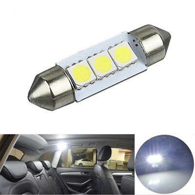 14X LED Interior Package Kit For T10 36mm Map Dome License Plate Light White