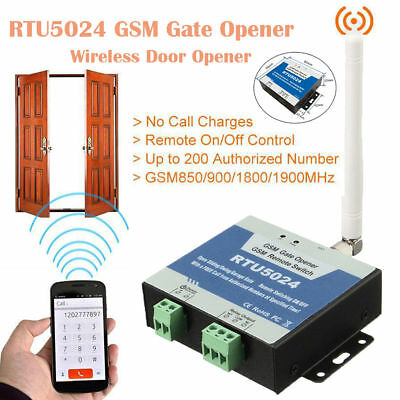 RTU5025 GSM Gate Door Opener Free Controller Wireless Sliding Garage Türö