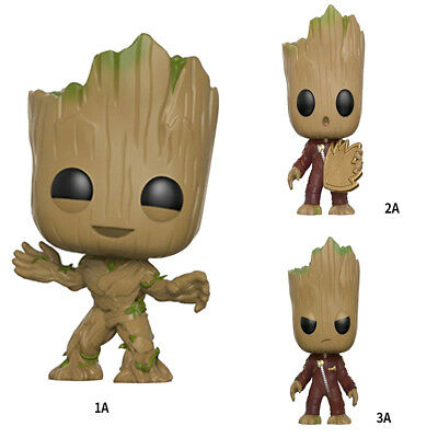 Baby Groot Figure Marvel Guardians Galaxy Dancing POP Funko Aution Finger Toys