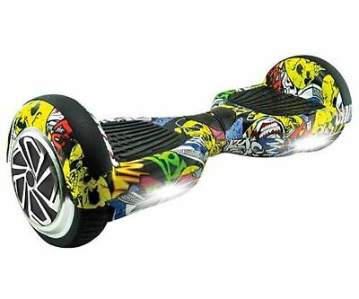 Scooter Electri Whinck Hoverboard Grafitti Bluetooth , 12Km/H