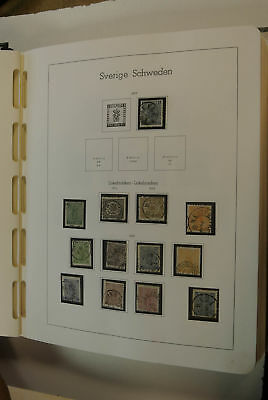 Lot 21202 Collection stamps of Sweden 1855-1980.