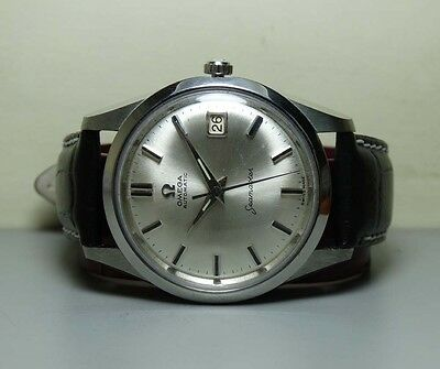 Vintage Omega Seamaster Automatic Date 503 SWISS MENS WRIST Watch H307 Antique