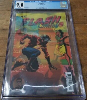 Flash #22 The Button CGC 9.8 3D Lenticular Variant