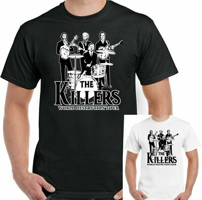 790fd1ce5f05 The Killers World Destruction Tour Mens Funny Parody T-Shirt War Satire Top