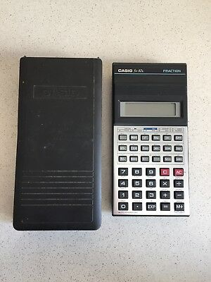 Calculadora Casio Fx-82L Fraction 8 Digits Scientific Calculator