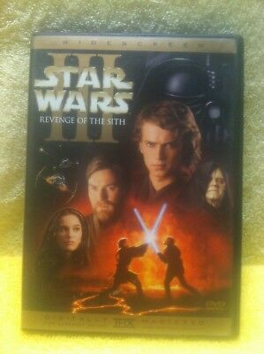 Star Wars 3 Revenge of the Sith 2005 DVD