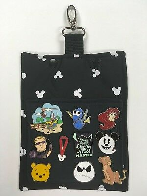 Silhouette! Mickey Mouse Pin Trading Hip Lanyard for Disney Pin Trading! Classic