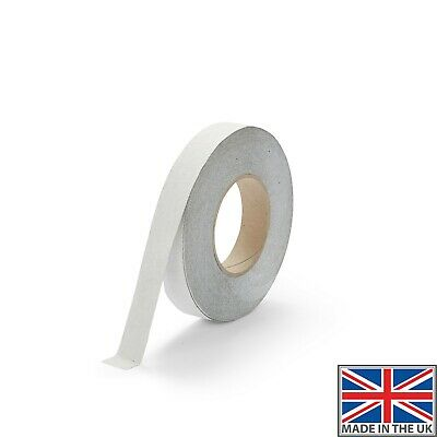 White Safety Grip Anti Slip Tape Non Slip Surface Permanent Water Resistant