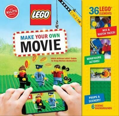 LEGO Make Your Own Movie by Pat Murphy 9781338137200 (Mixed media product, 2017)