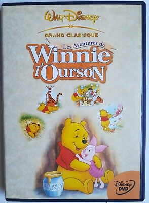 DVD Disney - LES AVENTURES DE WINNIE L'OURSON - Edition française