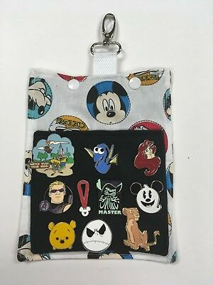 Mickey Mouse! Pin Trading Hip Lanyard and Bag for Disney Pin Trading! Goofy!
