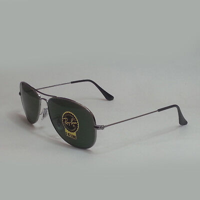 1842fb05eb Ray-Ban Men Sunglasses RB3362 Cockpit Green Lens with Silver Tone Metal  Frame