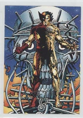 1992 Comic Images Wolverine: From Then 'Til Now II #7 Logan Non-Sports Card 1k3