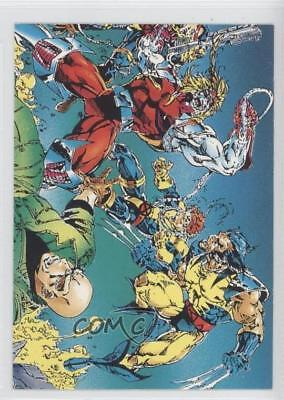 1992 Comic Images Wolverine: From Then 'Til Now II #75 Omega Red Card 1k3