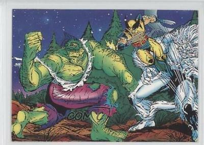 1992 Comic Images Wolverine: From Then 'Til Now II #27 First Defeat Card 1k3