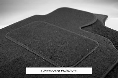 Mazda Mx5 With Fixings 2006-2014 Fully Tailored Black Carpet Car Mats
