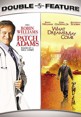 PATCH ADAMS/WHAT DREAMS MAY COME (DVD, 2007, 2-Disc Set) NEW