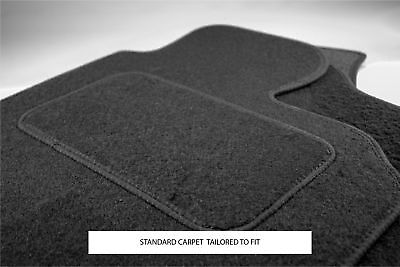 Ford Fusion Auto 2002-2012 Fully Tailored Black Carpet Car Mats