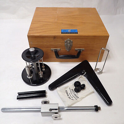 Brookfield Viscometer Accessories Spindles, Stand, Wood Case & More