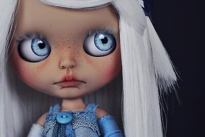 Blythe Juguetes Icy Faceplate Custom Doll Eliseodolls Matching In Colour
