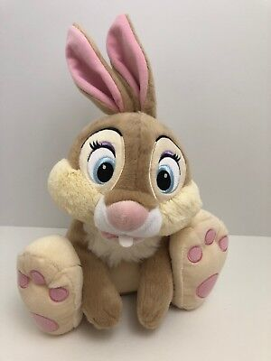 ae147583db7 Disney Store Miss Bunny Plush Stuffed Toy Bambi Thumpers Girlfriend Rabbit