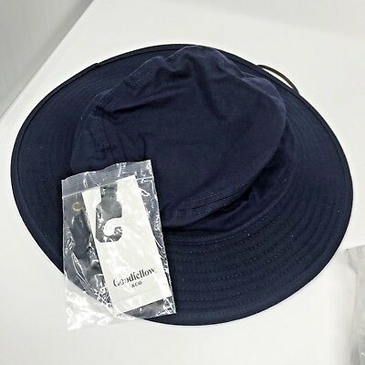 a4d787c13a0 Goodfellow and Company Mens Navy Blue Bucket Hat with Chin Strap Size Large  XL