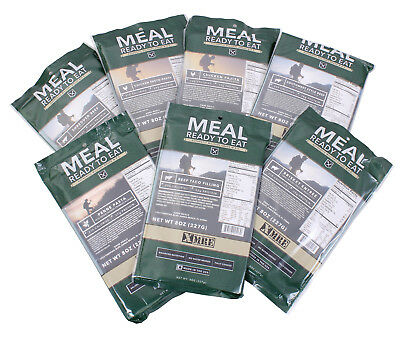 US Made Military MRE Meal Main Entree, Emergency Survival Food Camping USGI 9310