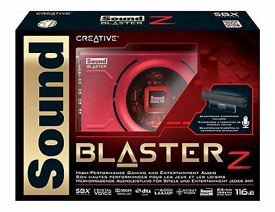 Sound Blaster Z PCIe Gaming Sound Card