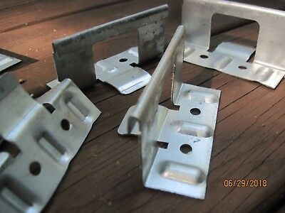 """Lot of 100 G 1.5 metal roofing Clip concealed 1.5"""" x 3.5"""""""