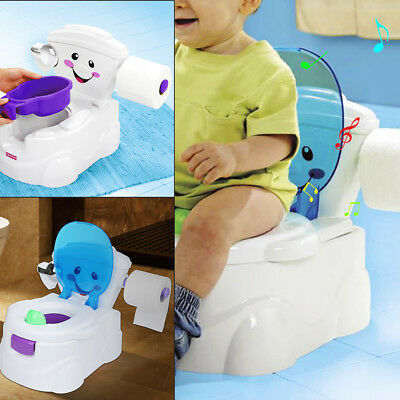 Toilettentrainer Kinder WC Toilettensitz Baby Potty Lerntöpfchen Toilette Music