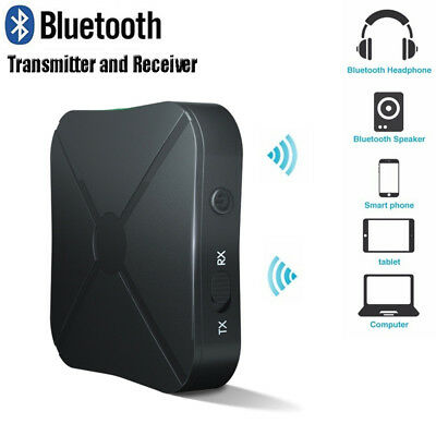 HOT~! Wireless Bluetooth Audio Transmitter Receiver Stereo Music Adapter RCA AUX