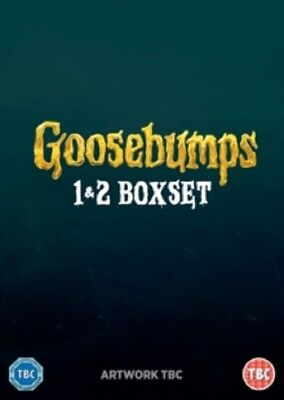 Goosebumps + Goosebumps 2 (Jack Black Dylan Minnette) Two New DVD
