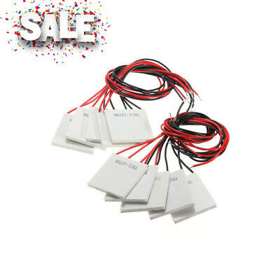 Thermoelectric Peltier Refrigeration Cooling System Cooler Fan TEC1-12706 10Pcs