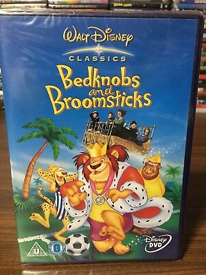 REGION 2 DVD Bedknobs And Broomsticks REGION 2 DVD NEW