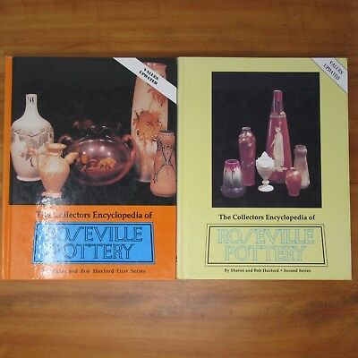 Roseville Pottery Identification Guide Books by Huxford 1st & 2nd Series Lot