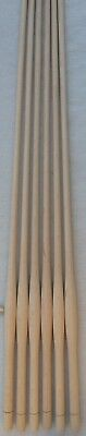 "6 NEW UNFINISHED MAPLE BULBOUS TURNED WINDSOR CHAIR SPINDLES 30"" high"