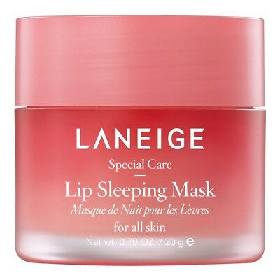 LANEIGE Lip Sleeping Mask 20g Lip Cream Care Smooth Berry USA SELLER