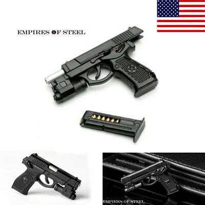 "1/6 Semi-automatic QSZ92 Pistol Hand Gun Weapon Model Toys F 12"" Action Figure"