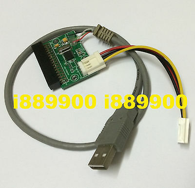 """1.44MB 3.5/"""" floppy drive connector 34 PIN 34P to USB cable adapter PCB board D*"""