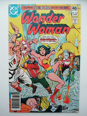 Wonder Woman 268  F/vf (Re-Intro Of Animal Man) (Combined Ship.) (See 12 Photos)