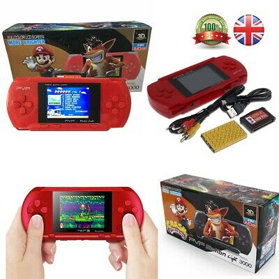 2.7'' PXP 3 PVP Slim Station Games Console 3000 Games Portable Handheld Player