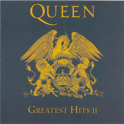 Queen – Greatest Hits II RARE COLLECTOR'S SEALED CD! FREE SHIPING!