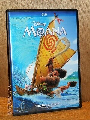 Moana (DVD, 2016) DISNEY animated Auli'i Cravalho Dwayne Johnson Rachel H.