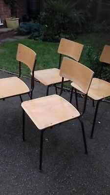1970s vintage retro stacking chairs