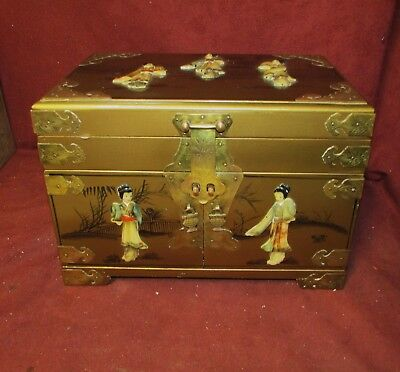 Old or Antique Asian Chinese Jewelry Box