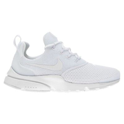 best sneakers e8fb4 98485 NIKE PRESTO FLY Womens Size 8.5 Running Shoe Triple White 910569 101